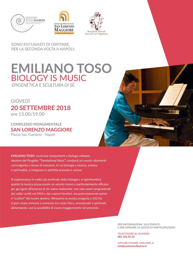 Emiliano Toso – Biology is Music